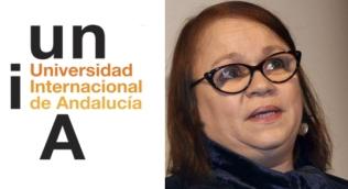CR Zoe Valdés invitada a conferencias en Universidad de Andalucía.